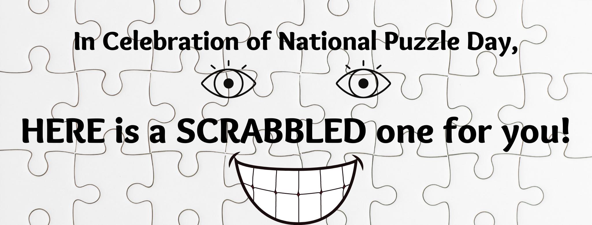 Making Scrabble Puzzle Fun!