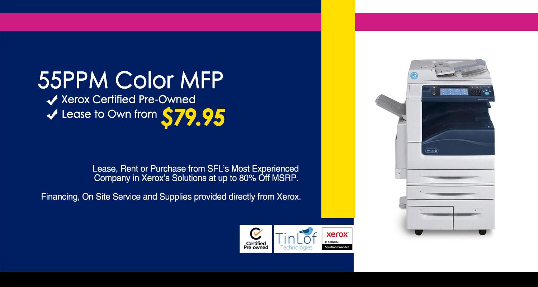 55PPM Color MFP