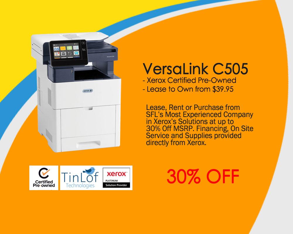 VersaLink® C505 C405