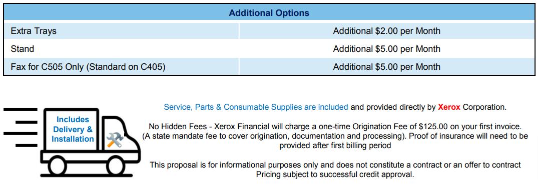 Xerox VersaLink C505 C405