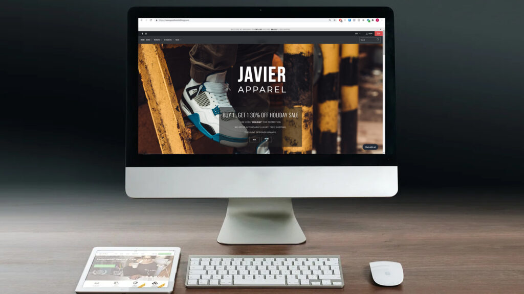 website optimized for lead generation