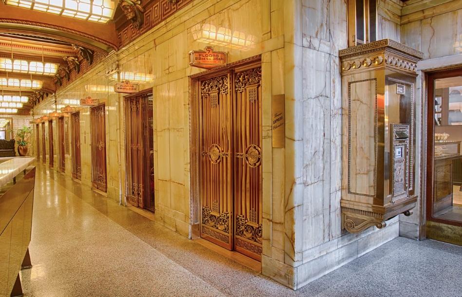 Smith Tower Elevator