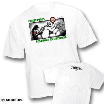 corruption politics antifa anti fascist freedom truth justice peace love equality clothing t shirts usa made american cotton