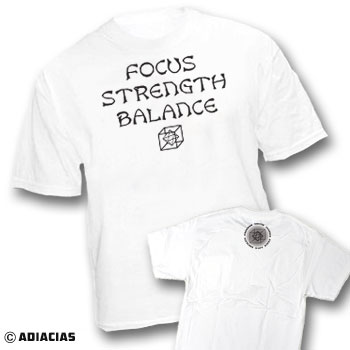 focus strength balance peace love equality freedom truth justice adiacias t shirts since 2005