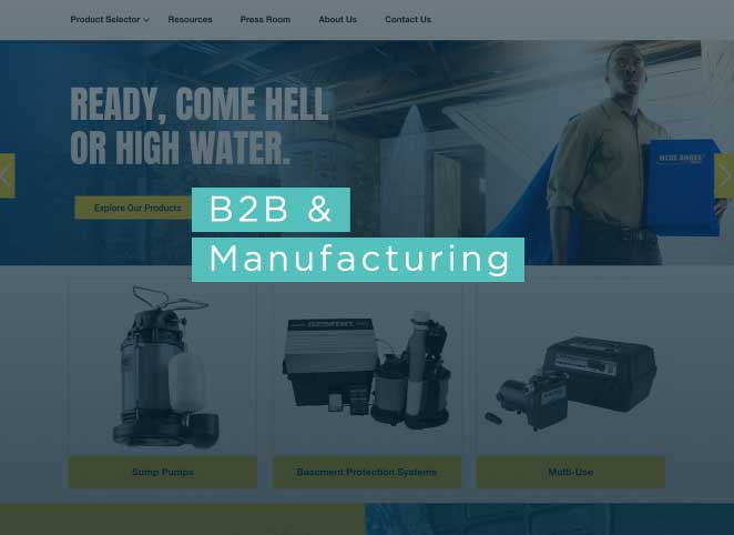 B2B and Manufacturing