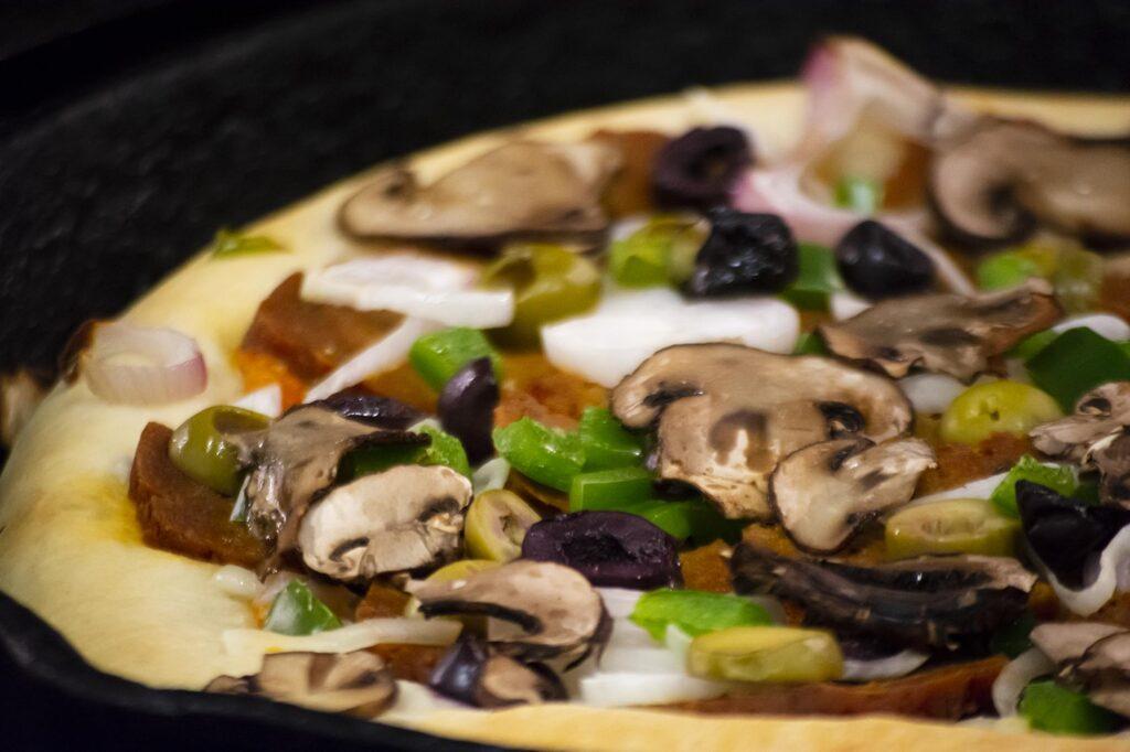 vegan supreme pizza