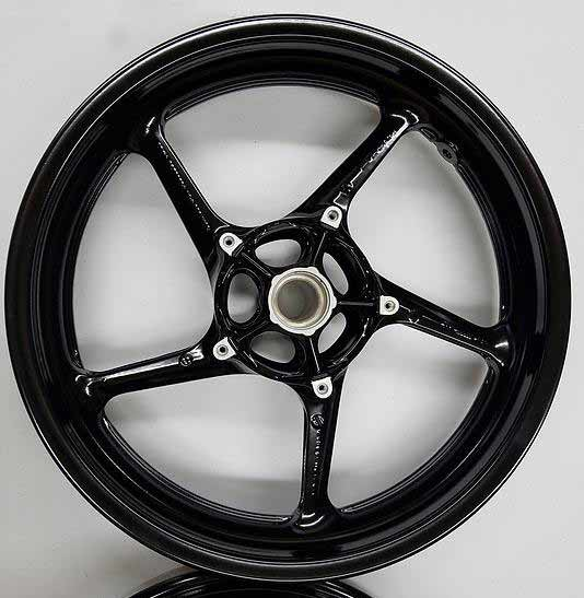 Aluminum wheel media blasted and powder coated gloss Black. Powder coating Indianapolis Indiana, Whiteland, Greenwood, Danville, Southport, Franklin, Smith Valley, Cumberland, Plainfield, Avon, Brownsburg, Clermont, McCordsville, Martinsville, Marion, New Palestine, Greenfield, Mt. Comfort, Lawrence