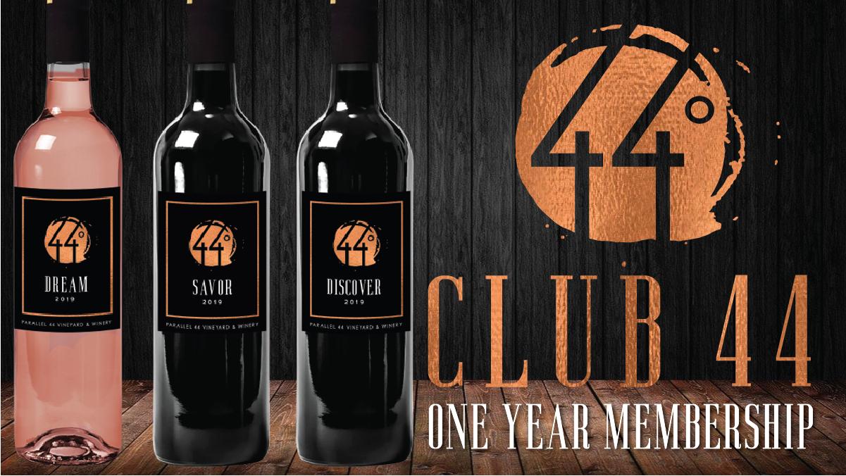Club 44 One year membership