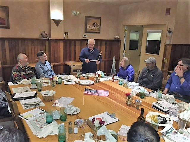 ASCCA meeting of San Francisco Bay Area Auto Repair Business Owners discussing insurance