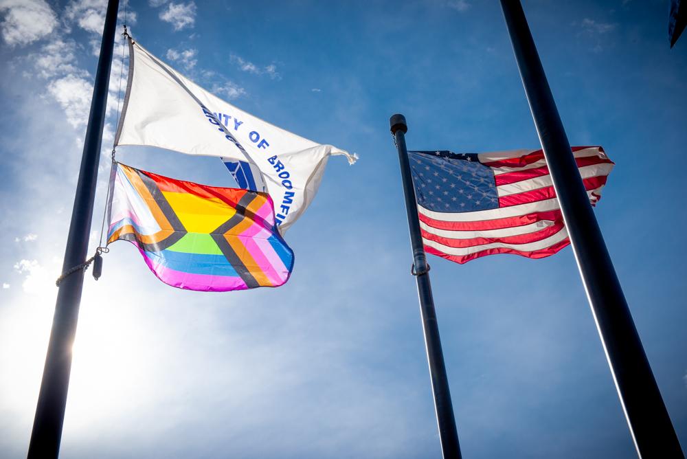 Inclusive Pride Flag Ceremony