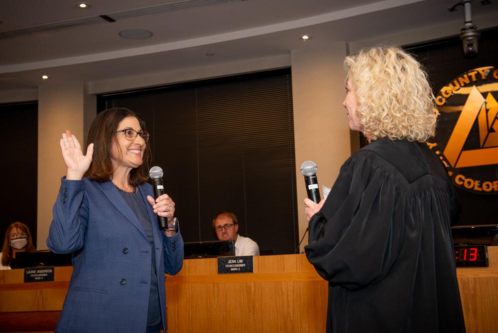 Guyleen Voted Interim Mayor