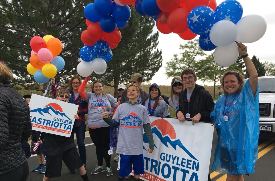 Canvass Kickoff For Guyleen for Mayor
