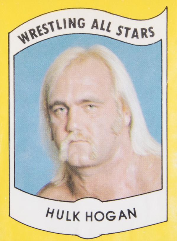 1982 Wrestling All Stars Hulk Hogan