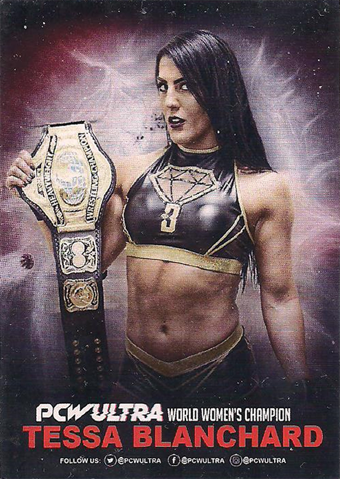 2018 – 2020 PCW Ultra Wrestling Cards Tessa Blanchard