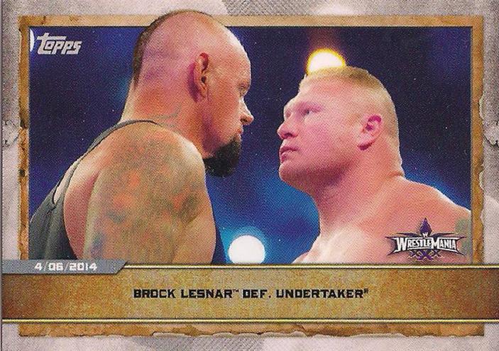 2020 Countdown To WrestleMania  (Topps)