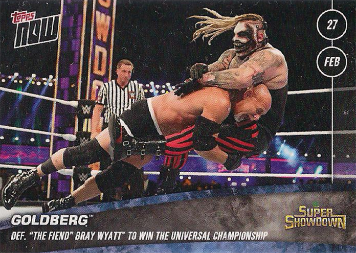 2020 WWE Topps Now 11