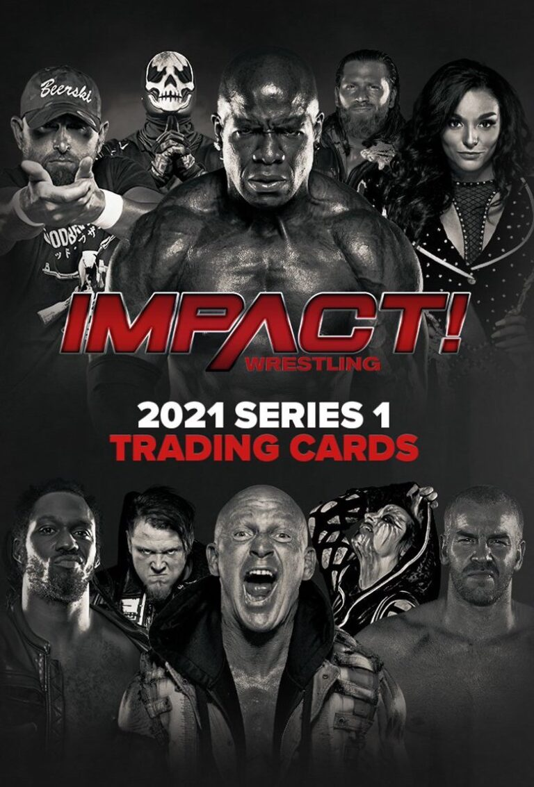 2021 IMPACT Wrestling Series 1 & 2 Trading Cards