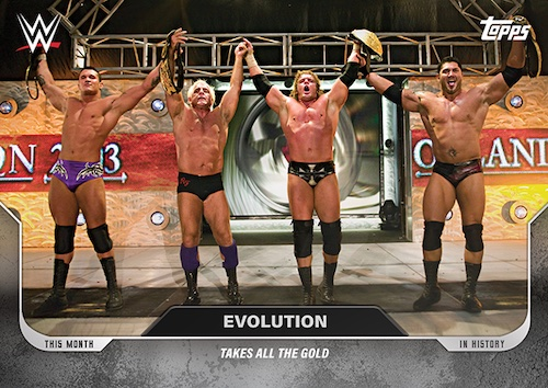 2020 – 2021 This Moment In WWE History  (Topps)