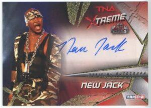 New Jack TNA Xtreme Autograph Card