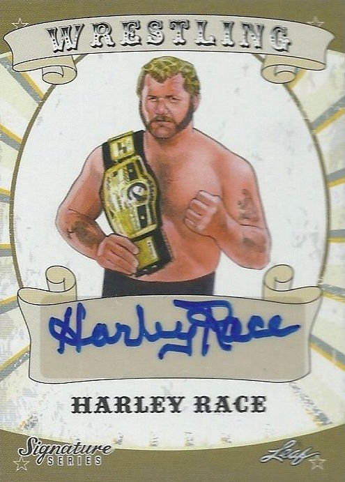 2016 Leaf Signature Series Wrestling Cards Harley Race