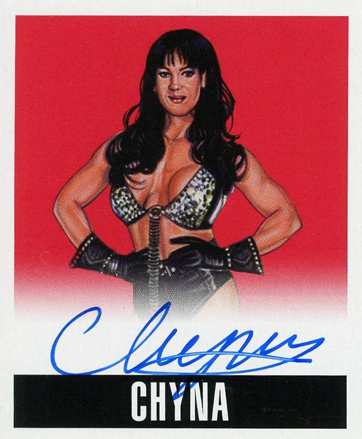 2017 Leaf Originals Wrestling (Leaf) Chyna