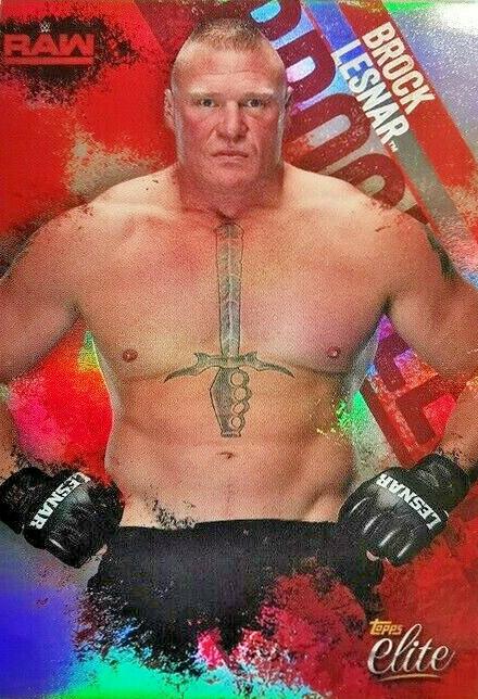 2018 Topps WWE Elite Brock Lesnar