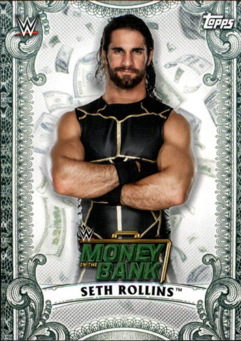 2019 WWE Money In The Bank Seth Rollins MC6