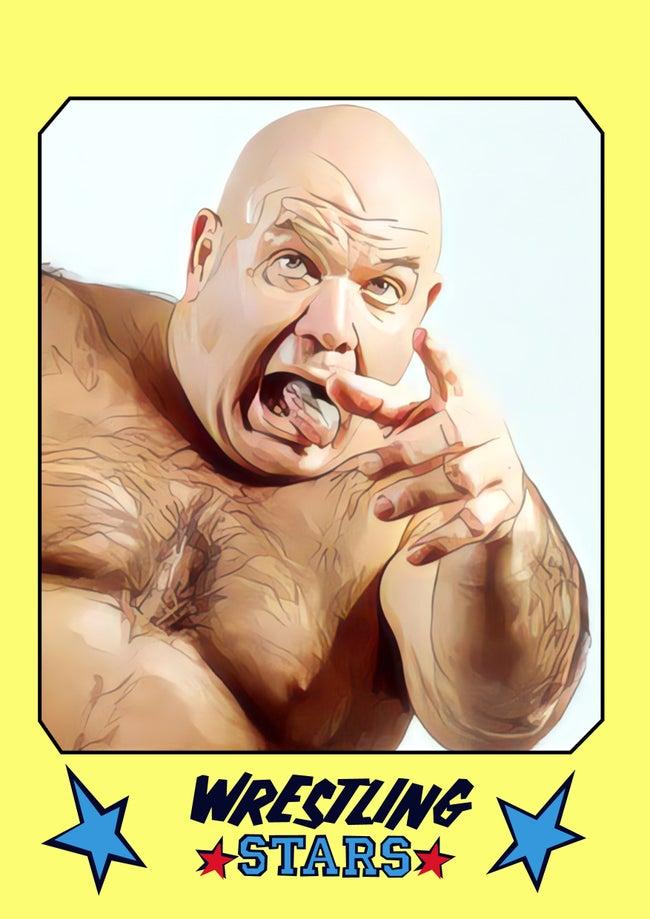 2021 Wrestling Stars Custom Card Set  (75Kings)