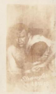 """1948 Topps Magic Photos Ed """"Strangler"""" Lewis"""