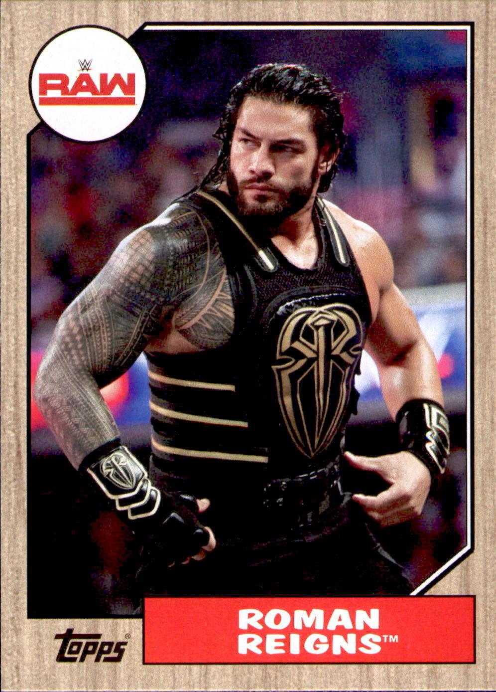 2017 WWE Heritage Roman Reigns Base