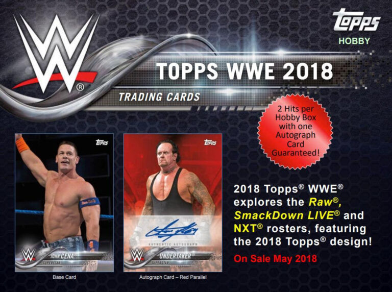 2018 WWE Trading Cards  (Topps)