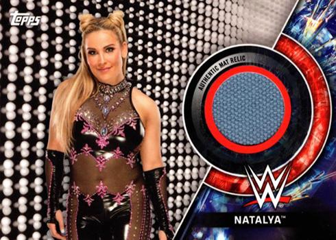 2018 WWE Womens Division Natalya Mat Relic