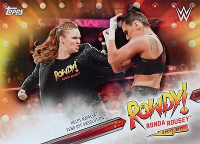 2019 WWE Road To WrestleMania  (Topps)