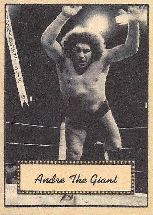 2021 LJACards Legends Of The Ring 2 History Of Wrestling Trading Cards Andre the Giant