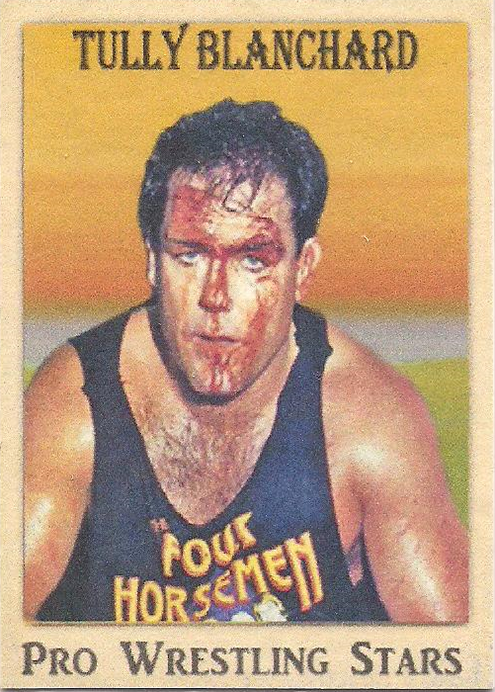 2021 LJACards Pro Wrestling Stars History Of Wrestling Trading Cards Tully Blanchard