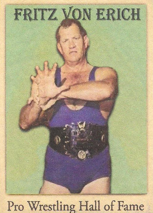 "2021 LJACards ""Wrestling Hall Of Famers"" History Of Wrestling Trading Cards"