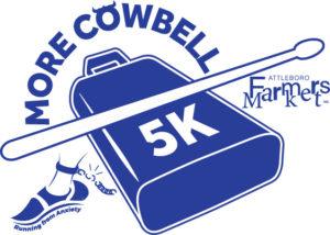 More Cowbell 5K logo