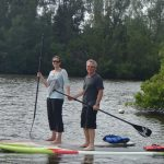Stand up paddle boarding with SUP Eco Adventures