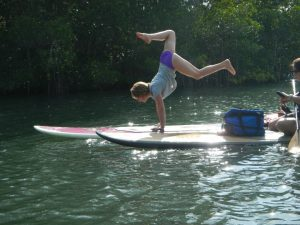 Stand up paddle boarding adventure tour with SUP Eco Adventures