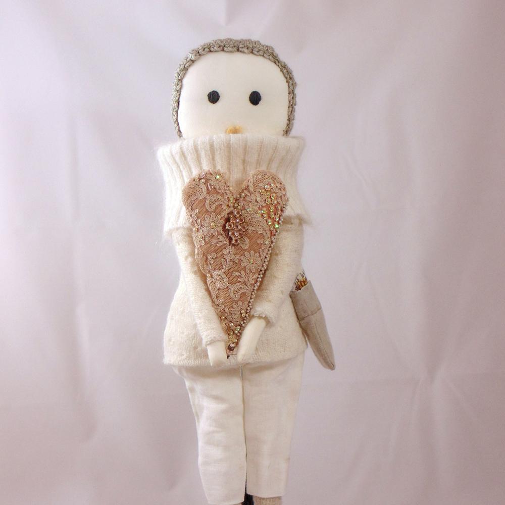 Handmade rag doll