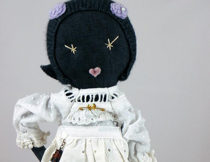 Wanda Bowring Cloth Dolls