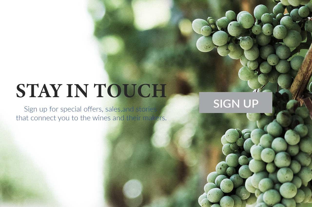 sign-up to buy wine online