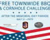 Memorial Day - FREE BBQ and Cornhole