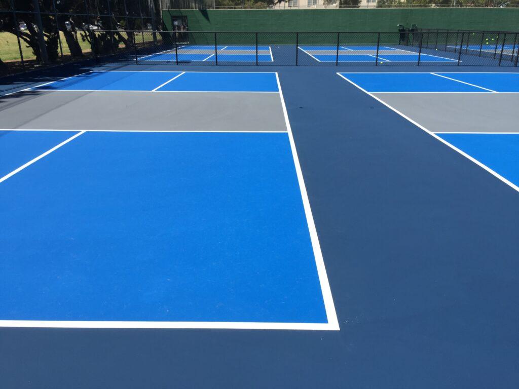 blue court tennis