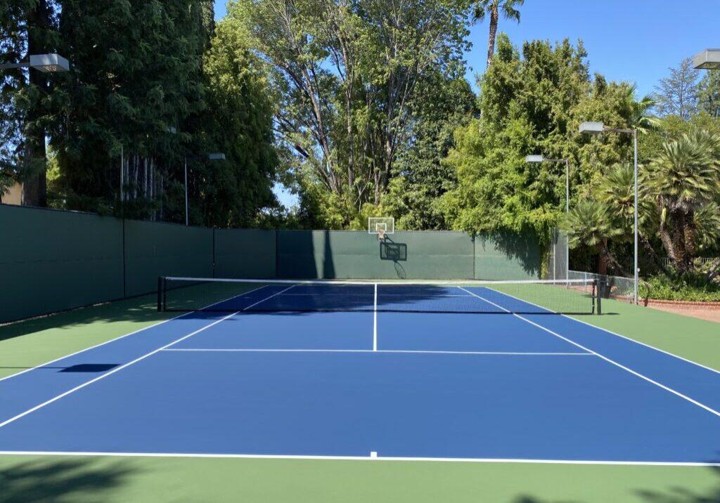 tennis basketball court