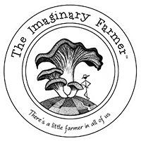 Imaginary Farmer logo, mushrooms