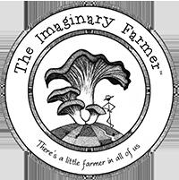 Imaginary Farmer logo, mushrooms