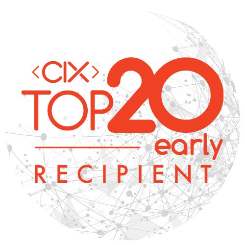 CIX Top 20 Early Recipient Award