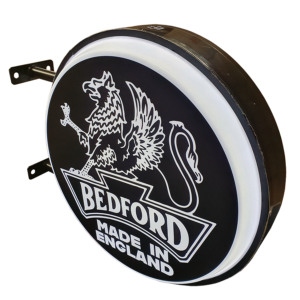 Bedford Black LED Light