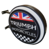 Triumph Motorcycles 12v LED Retro Bar Mancave Light Sign